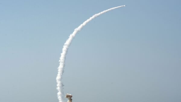 Tir d'un missile antinavire Kalibr-NK (archive photo) - Sputnik France