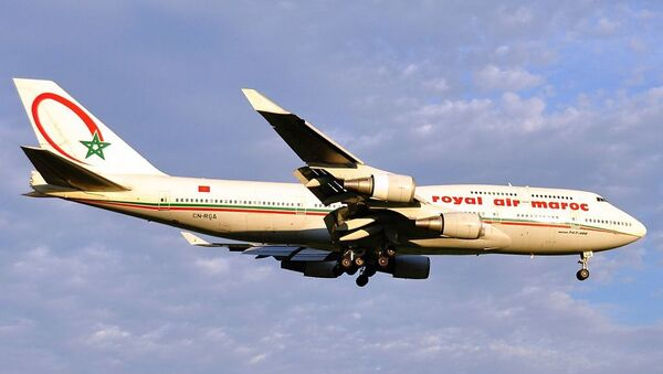 Boeing 747 de Royal Air Maroc - Sputnik France