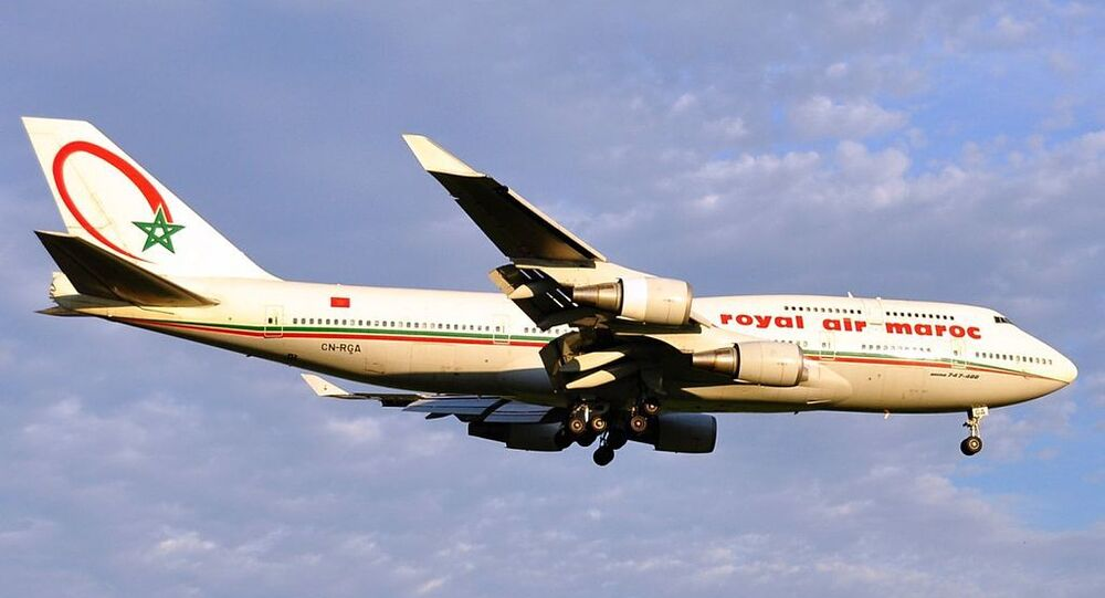 Boeing 747 de Royal Air Maroc