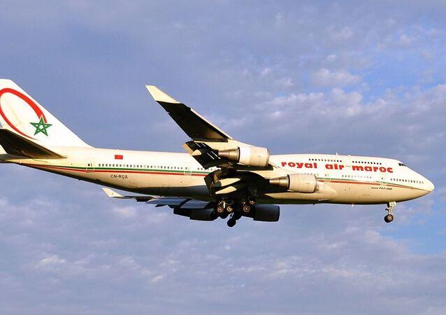 Un avion de Royal Air Maroc