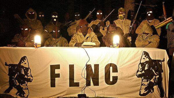 une conférence de presse du Front de Libération Nationale Corse en 2003 - Sputnik France