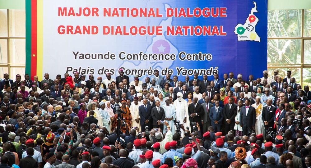 Grand dialogue national au Cameroun