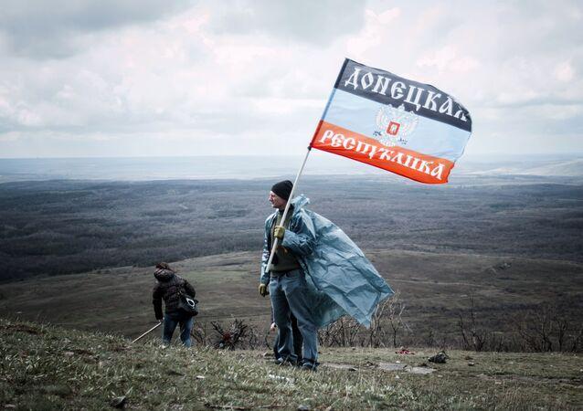 Sur le territoire de la République populaire autoproclamée de Donetsk