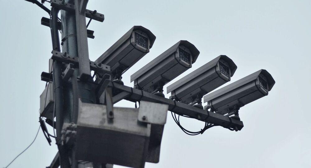 Caméras de surveillance, image d'illustration