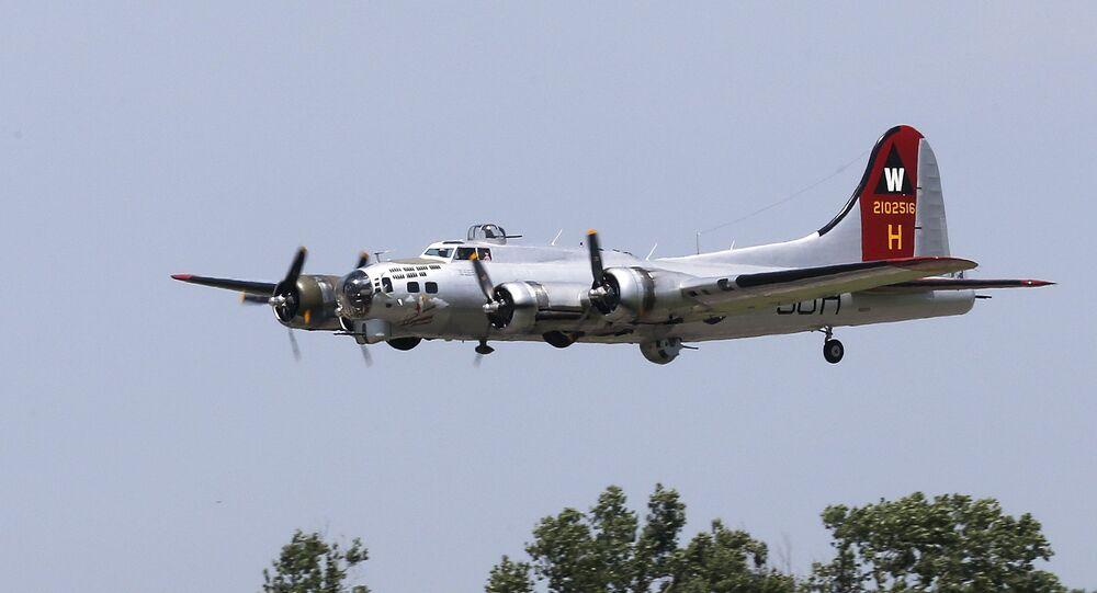 Boeing B-17 de la Seconde guerre mondiale (archives)