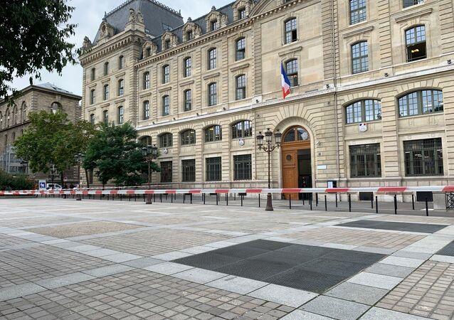 La préfecture de police de Paris, le 3 octobre 2019
