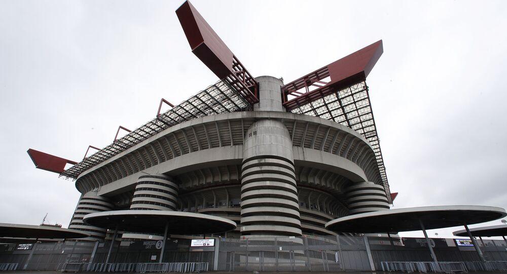 San Siro stadium in Milan, Italy