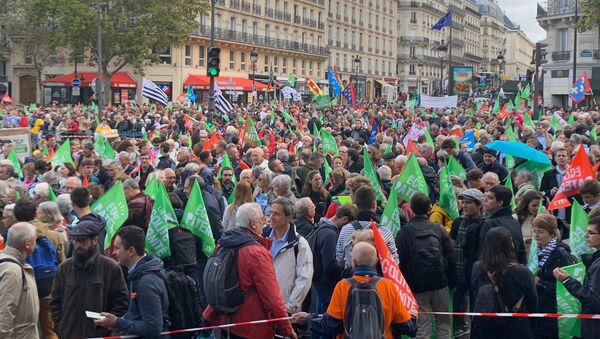 Manif pour tous: défilé à Paris contre la PMA, 6 octobre 2019 - Sputnik France
