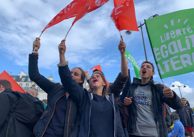 Manif pour tous: défilé à Paris contre la PMA, 6 octobre 2019