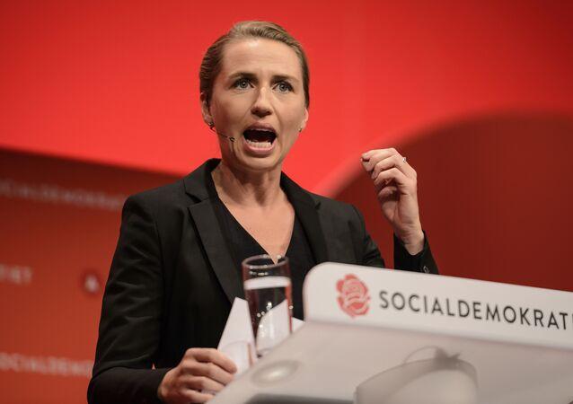 La Première ministre danoise Mette Frederiksen