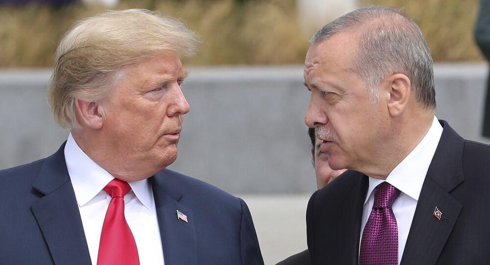 Donald Trump et Recep Tayyip Erdogan (archive photo)