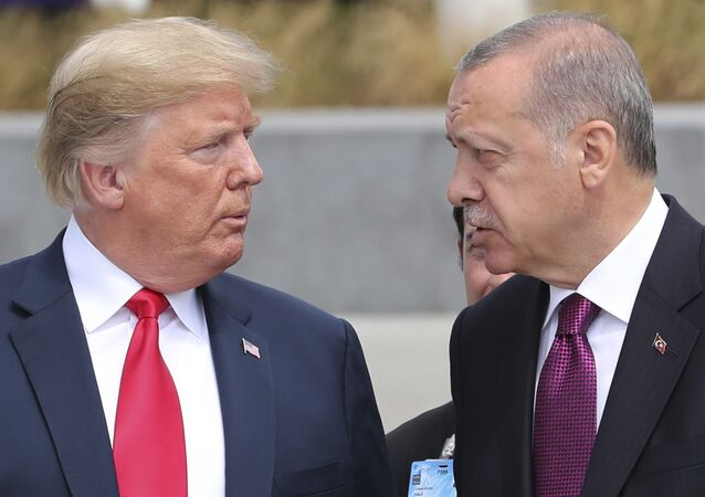 Donald Trump et Recep Tayyip Erdogan (archive photo)