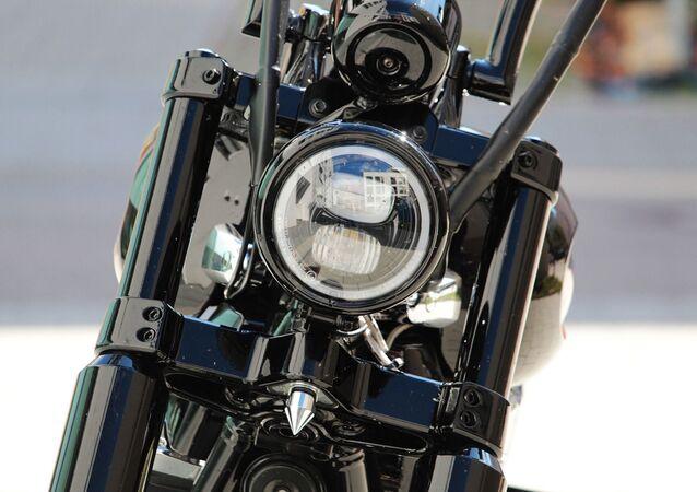 Une moto (image d'illustration)