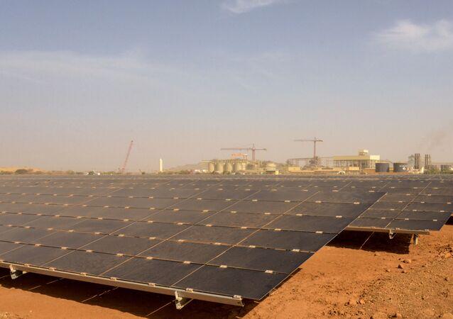 Centrale photovoltaïque au Burkina Faso