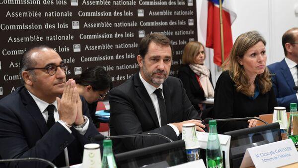 Laurent Nunez, Christophe Castaner et Yael Braun-Pivet - Sputnik France
