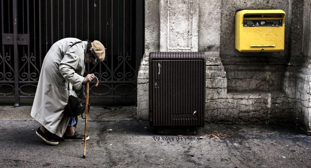 Une femme âgée (image d'illustration)