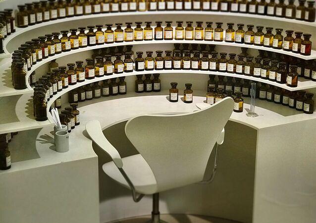 Échantillonnage de parfums