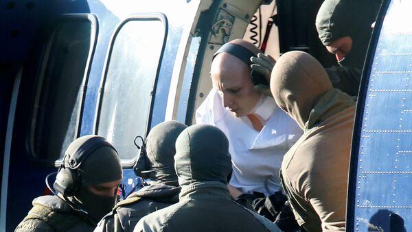 Stephan Balliet éscorté par des policiers allemands - Sputnik France