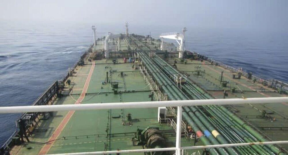 le pétrolier iranien Sabiti