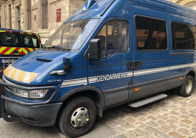 Une voiture de gendarmerie à Paris (image d'illustration)