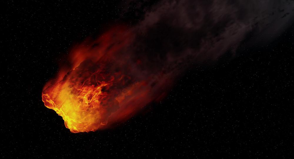 Une boule de feu