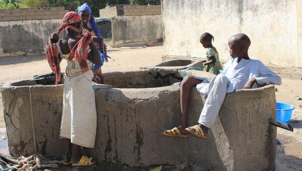 Un point d'eau à Limani, région de l'Extrême-Nord du Cameroun  - Sputnik France