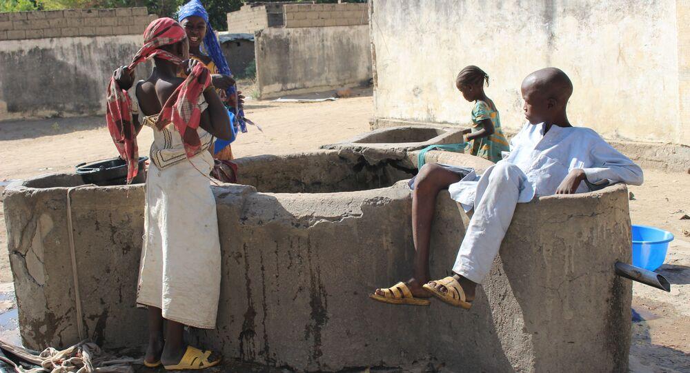 Un point d'eau à Limani, région de l'Extrême-Nord du Cameroun