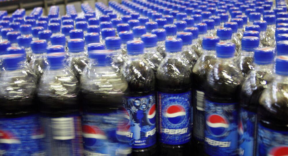 Des bouteilles de Pepsi