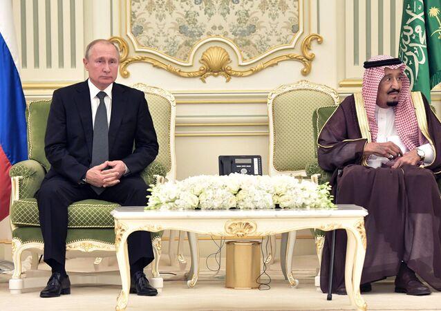 Visite de Poutine en Arabie saoudite, 2019