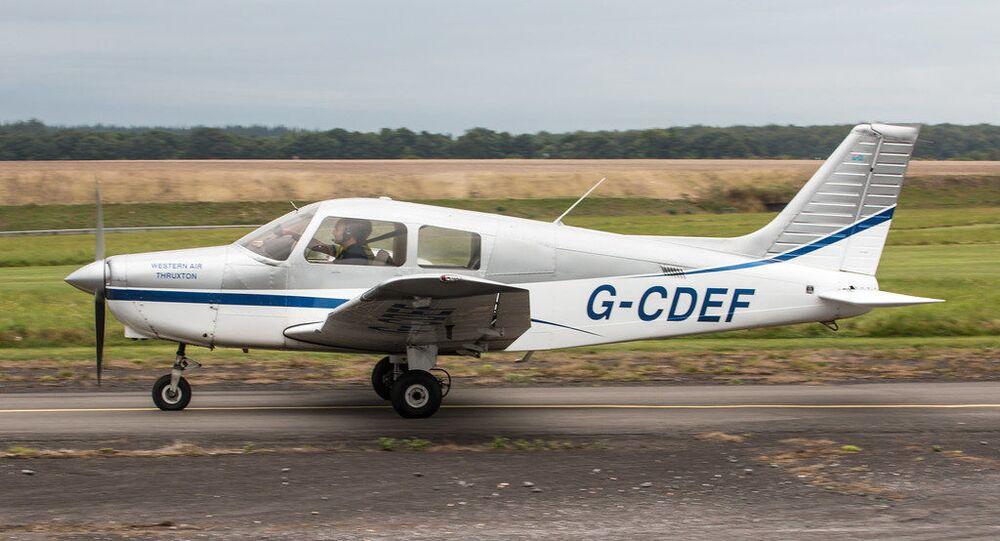 EGHO - Piper PA-28-161 Cherokee Warrior - G-CDEF