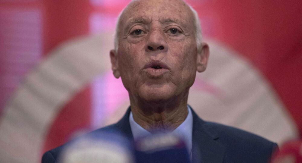 Kaïs Saïed, Président tunisien
