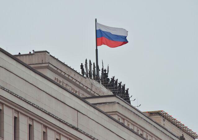 Le siège du ministère russe de la Défense à Moscou