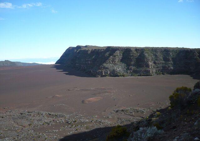 Piton de la Fournaise: Plaine des Sables, La Réunion, France