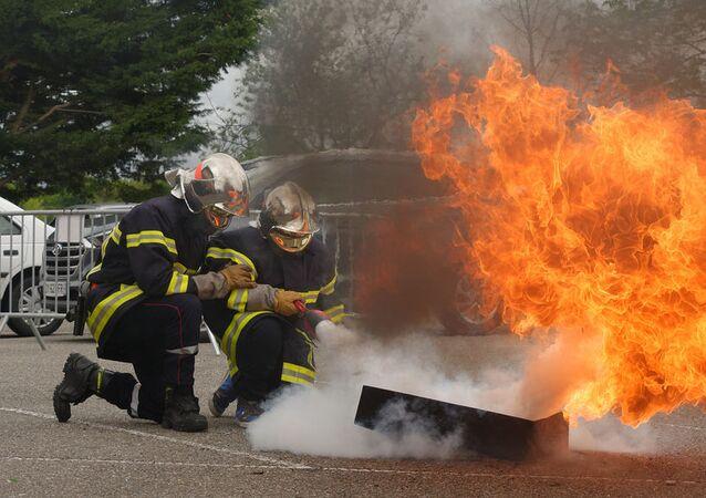 Des pompiers (image d'illustration)