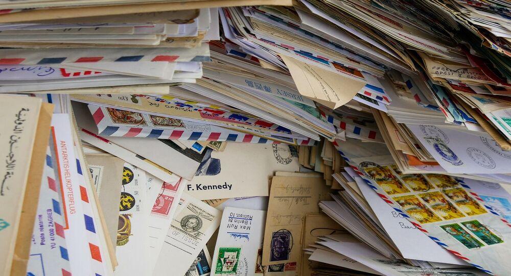 Des courriers (images d'illustration)