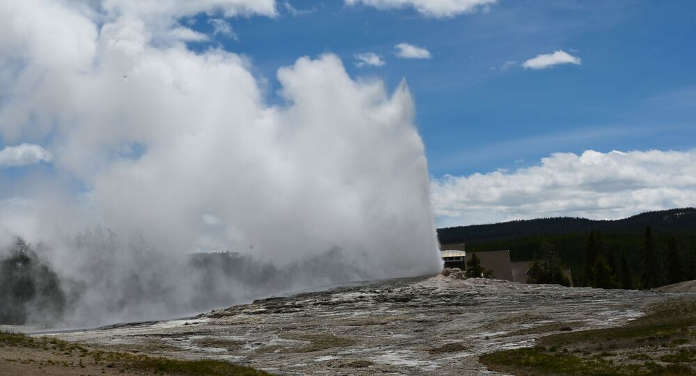 Supervolcan de Yellowstone