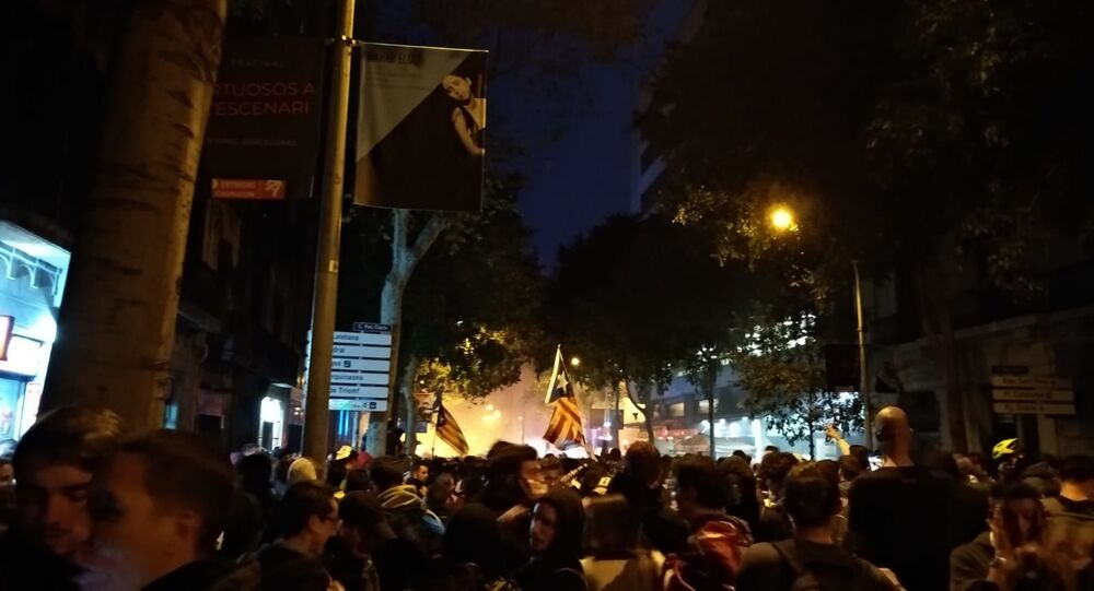 Situation au centre de Barcelone