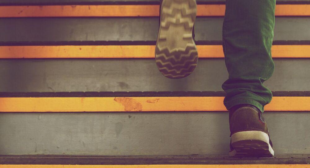 Escaliers, photo d'illustration