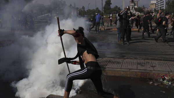 Les manifestations au Chili - Sputnik France