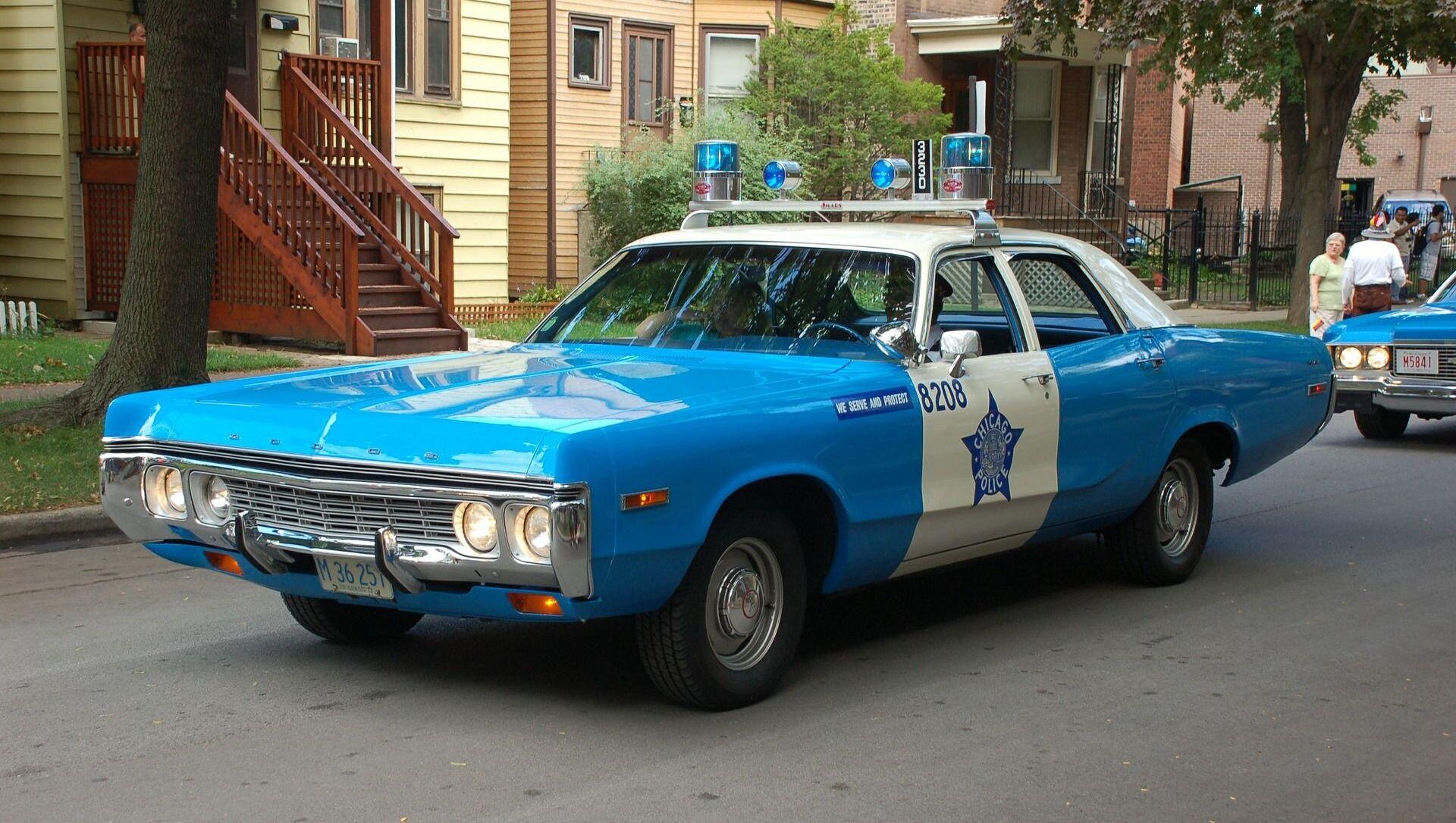 Une voiture de police à Chicago - Sputnik France, 1920, 08.08.2021