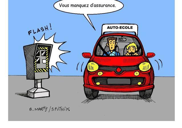 Après la vitesse, les feux rouges, les radars s'attaquent au défaut d'assurance