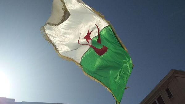 Drapeau algérien  - Sputnik France
