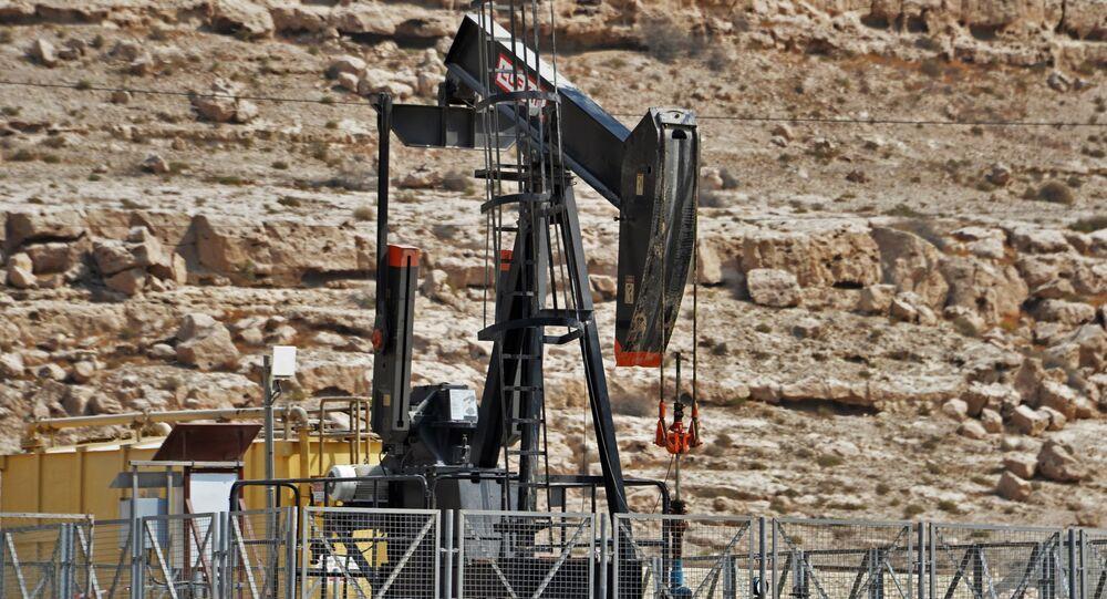 Un puits de pétrole, image d'illustraiton
