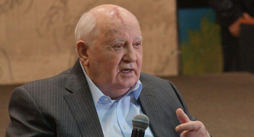Le dirigeant de l'URSS Mikhaïl Gorbatchev