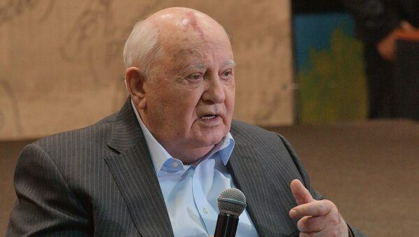 Le dirigeant de l'URSS Mikhaïl Gorbatchev - Sputnik France