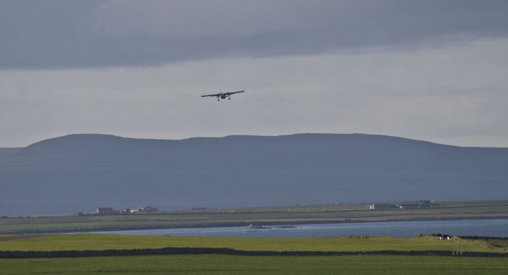 Un avion décolle de Papa Westray (archive photo)
