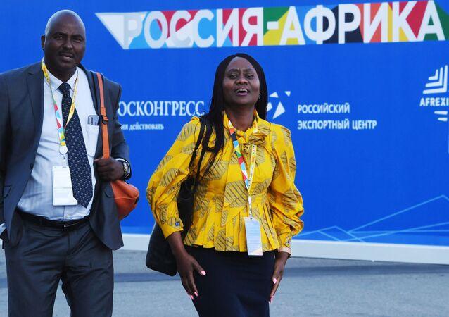 Participants du Forum Russie-Afrique