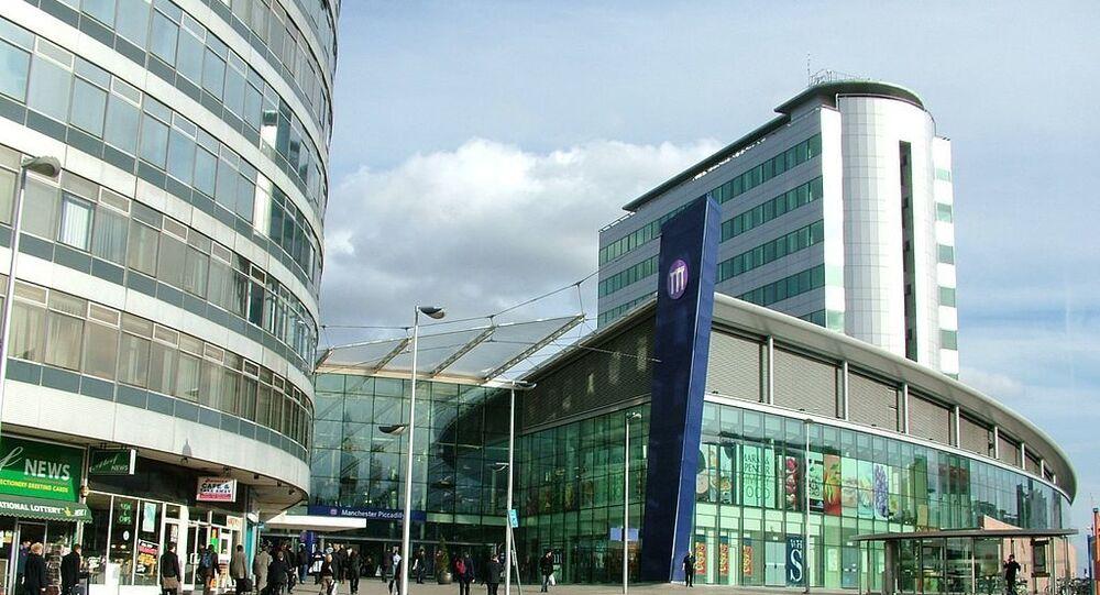 La gare de Manchester Piccadilly