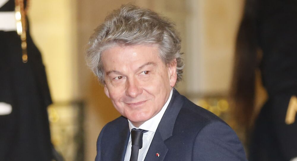 Thierry Breton, photo d'archives