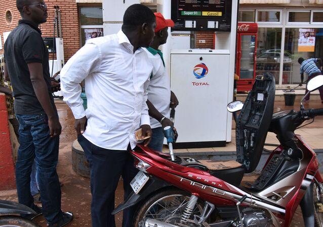 Station service au Burkina Faso